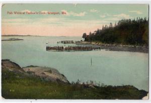 Fish Weirs at Tarbor's Cove, Westport ME
