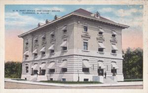 FLORENCE, South Carolina; Post Office and Court House, 30-40s
