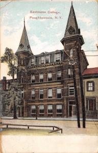 Poughkeepsie New York~Eastman Business College~Closed 1931~Racist~1908 Postcard