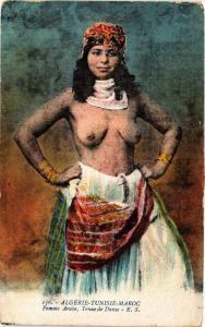 CPA Femme arabe Tenue de Danse ETHNIC NUDE (573948)