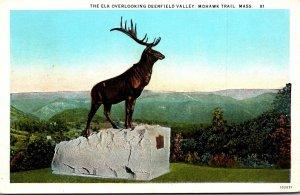 Massachusetts Mohawk Trail The Elk Overlooking Deerfield Valley Curteich
