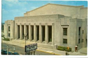 The Civic Auditorium, Grand Rapids, Michigan unused Postcard