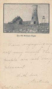 SCITUATE , Massachusetts , 1905 ; LIGHTHOUSE