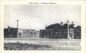 3 Way Stop - Texhoma, Oklahoma