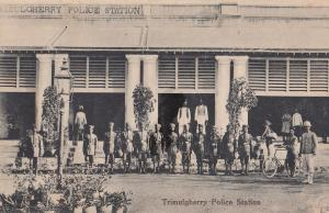 Trimulgberry Police Station Indian Old Postcard