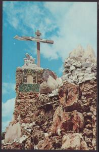 XIII Station Grotto of Redemption West Bend,IA Postcard BIN
