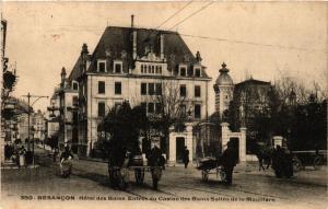 CPA BESANCON - Hotel des Bains.Entrée du Casino des Bains-Sailne... (350051)