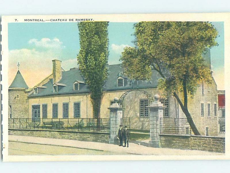 Unused W-Border HISTORIC HOME Montreal Quebec QC W4191