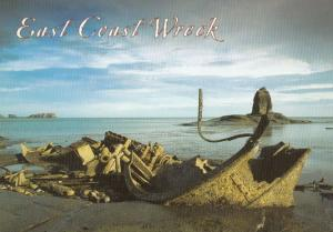 Whitby East Coast Wreck Shipwreck Disaster Yorkshire Postcard