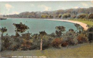 River Lagan & Ormeau Park Belfast Ireland Unused