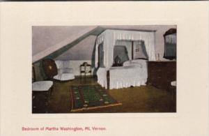 Virginia Mount Vernon Bedroom Of Martha Washington