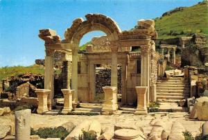 Turkey Efes Temple of Hadrianus Hadrianus Mabedi