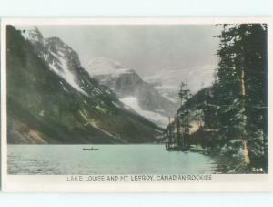 old rppc NICE VIEW Lake Louise Alberta AB W0830