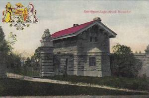 Gate Keepers Lodge, Brock Monument, Ontario, Canada, 1900-1910s