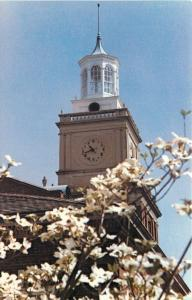 Clarksville Tennessee~Austin Peay State University~Clock Tower~1980s Postcard
