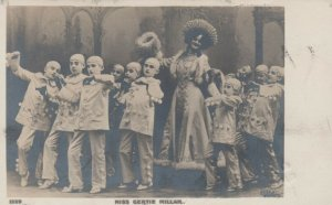 RP: Actress Miss Gertie Millar & Pierrot Clowns , 1905
