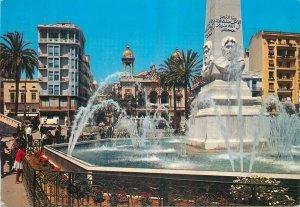 Algeria Postcard Oran 1st November Square