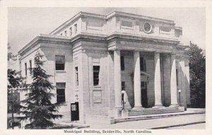 North Carolina Reidsville Municipal Building Albertype