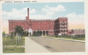 REGINA , Sask. , Canada , 1910s ; General Hospital