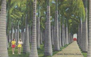 Palm Grove FL, Vero Beach, Lesbian Interest? Two Women Hand in Hand, Teich