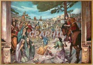 Postcard Modern Decollazione di S Paolo Abbazia Tre Fontaine