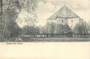 Tschechien das Lustschloss Stern in Prag castle Czech Republic postcard