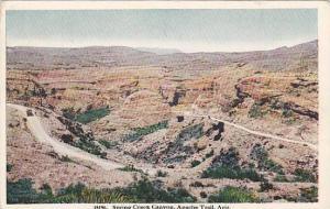 Scenic view, Spring Creek Canyon, Apache Trail,  Arizona, 00-10s