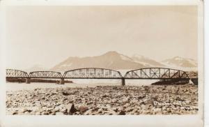 RP, CORDOVA , Alaska, 1920-1940s ; Bridge & Childs Glacier