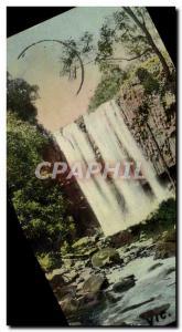 Postcard Old Trentham Falls
