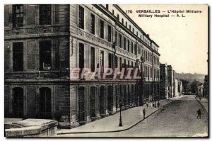 Old Postcard Versailles L & # 39Hopital Military Army