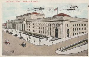 Union Railroad Station - Toronto, Ontario, Canada - pm 1934 - WB