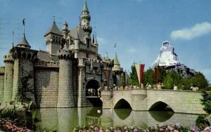 Disneyland, Anaheim Cal., Fantasyland, Sleeping Beauty's Enchanted Castle (1961)