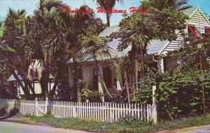 Florida Key West Tennessee Williams House At Historical Old Key West