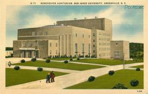 SC, Greenville, South Carolina, Rodeheaver Auditorium, Ashville No. E-9911