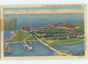 Linen MILITARY SCENE Newport Rhode Island RI AF8266