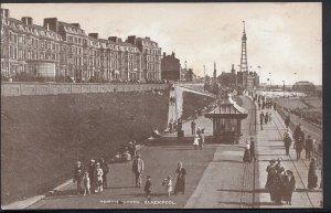 Lancashire Postcard - North Shore, Blackpool DC6