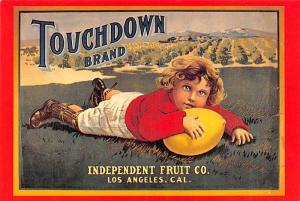 Advertising - Touchdown Brand