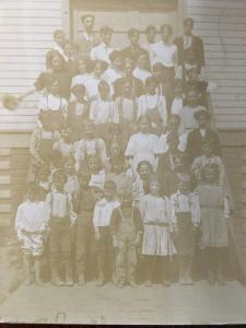 RPPC - Elkton, Oregon School Photo With All Grades