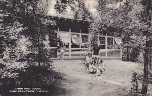Cabin Unit Lodge Y W C A Camp Grandview Canada
