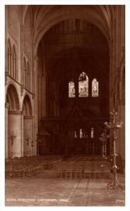 17600   Hereford  Cathedral  Nave  RPC Judges LTD  no.3564