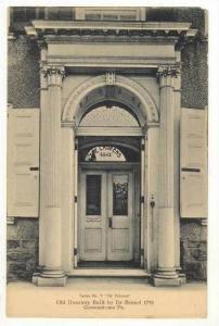 Old Doorway  The Laurens  built by Dr. Bensel 1795, Germantown, Pennsylvania,...