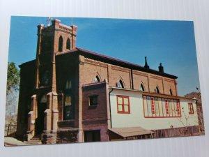 Vintage Postcard Hy Family Catholic Church 1985 Jerome Arizona unposted