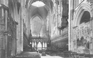 BR62100 choir ely cathedral    uk