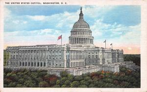United States Capitol, Washington, D.C., Early Postcard, unused
