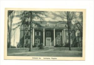 3021 VA  Lexington  Colonial Inn Hotel Motel