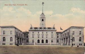 New City Hall Portland Maine 1916