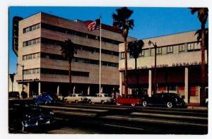 Postcard Columbia Square CBS - K.N.X. Hollywood California Standard View Card