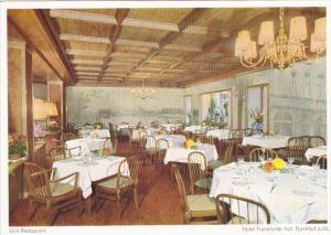 Germany Frankfurt Grill Restaurant Hotel Franfurter Hof