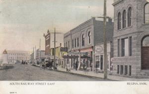 REGINA , Sask. , Canada , 1909 ; South Railway Street East