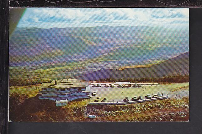 Bird's Eye View,Sky Line Inn,Manchester,VT Postcard